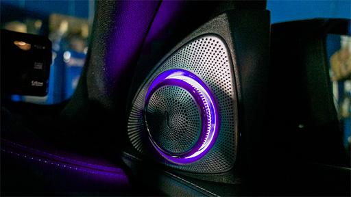W205/X253用 電動3Dツイーター64色